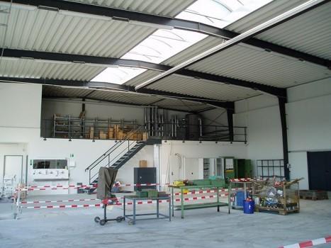 Neubau eines Betriebs- und Verwaltungsgebäudes