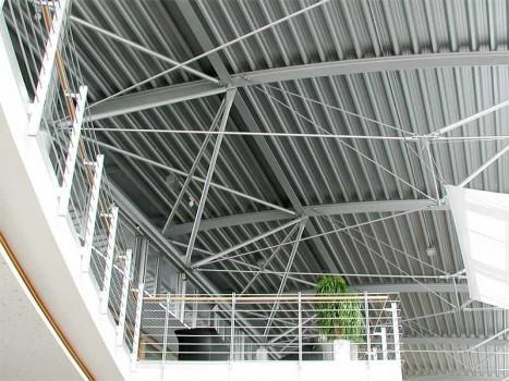 Neubau Ausstellungshalle mit Werkstatt
