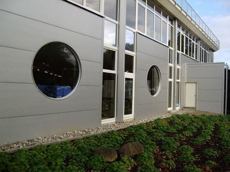 Erweiterung einer Großwäscherei und Neubau eines Bürogebäudes
