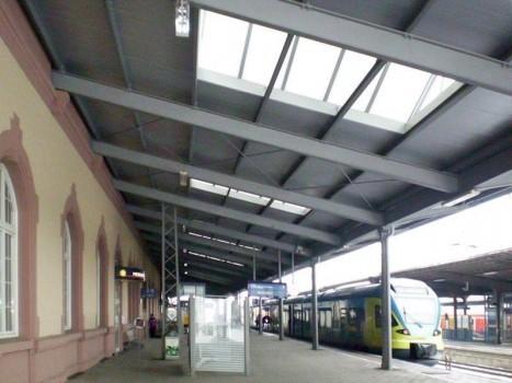 Sanierung von Gleis 1