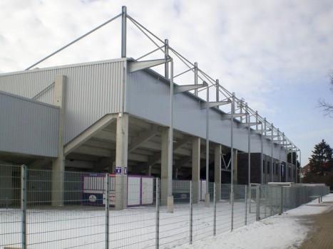 Neubau der Nordtribüne