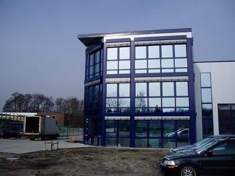 Neubau Werkhalle mit Büro